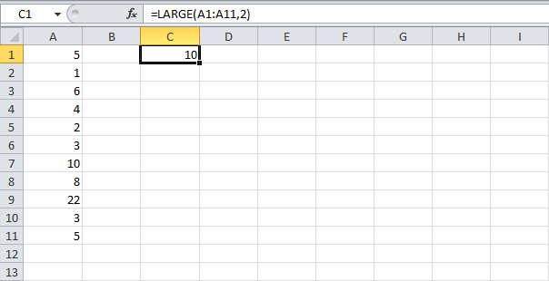 Sum Largest Numbers - Ultimate Destination for MS Excel